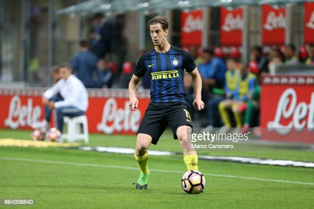 Cristian Ansaldi of FC Internazionale in action during the Serie A match between FC Internazionale and Uc Sampdoria UC Sampdoria wins 21 over...