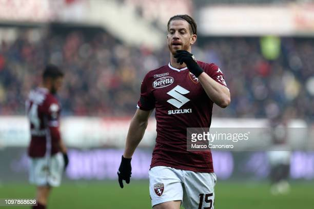Cristian Ansaldi of Torino FC during the Serie A football match between Torino Fc and Udinese Calcio Torino Fc wins 10 over Udinese Calcio