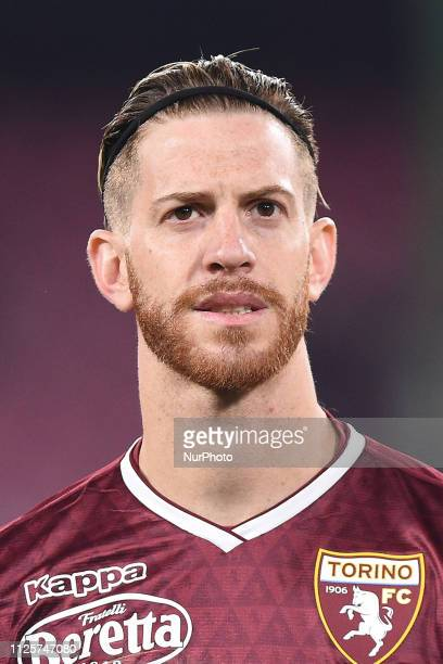 Cristian Ansaldi of Torino FC during the Serie A TIM match between SSC Napoli and FC Torino at Stadio San Paolo Naples Italy on 17 February 2019