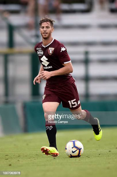 MOCCAGATTA ALESSANDRIA ITALY Cristian Ansaldi of Torino FC in action during the friendly football match between Torino FC and OGC Nice Torino FC won...
