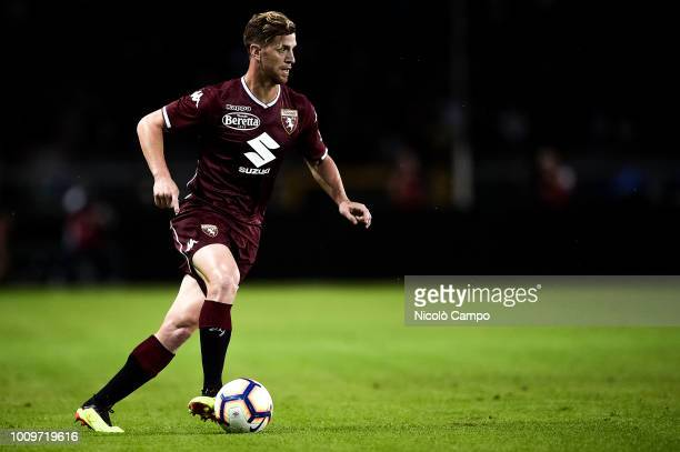 Cristian Ansaldi of Torino FC in action during the friendly football match between Torino FC and Chapecoense Torino FC won 20 over Chapecoense