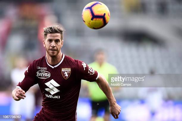 Cristian Ansaldi of Torino FC in action during the Serie A football match between Torino FC and Genoa CFC Torino FC won 21 over Genoa CFC