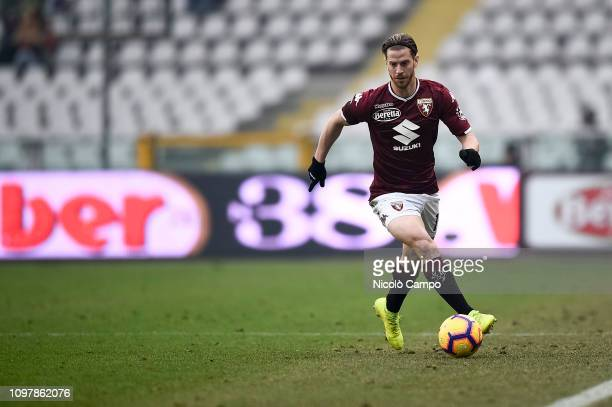 Cristian Ansaldi of Torino FC in action during the Serie A football match between Torino FC and Udinese Calcio Torino FC won 10 over Udinese Calcio