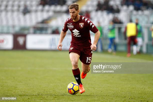 Cristian Ansaldi of Torino FC in action during the Serie A football match between Torino Fc and Ac Chievo Verona The match ended in a 11 tie