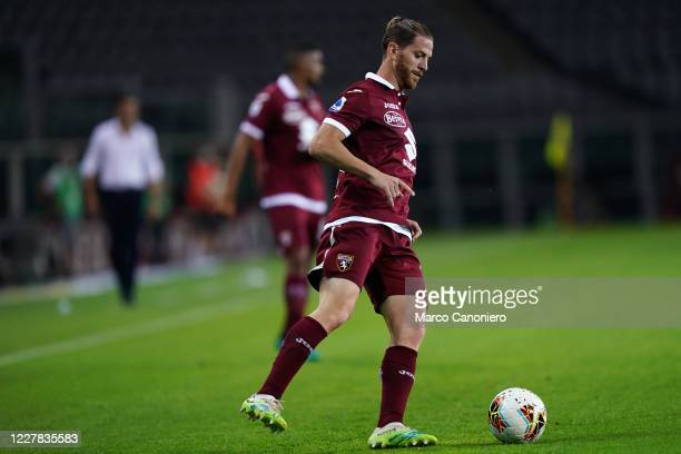 Cristian Ansaldi of Torino FC in action during the Serie A match between Torino Fc and As Roma As Roma wins 32 over Torino Fc