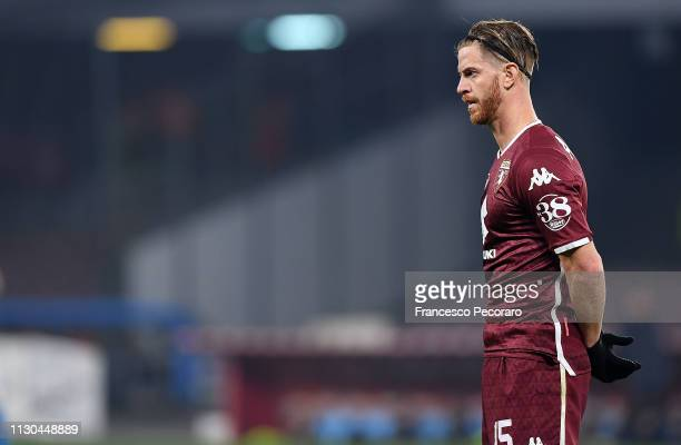 Cristian Ansaldi of Torino FC in action during the Serie A match between SSC Napoli and Torino FC at Stadio San Paolo on February 17 2019 in Naples...