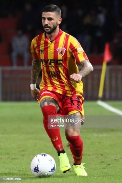 Cristian Bonagliuto during the Italian Serie A football match between Benevento Calcio v Ascoli Picchio FC at stadium Ciro Vigorito in Benevento...