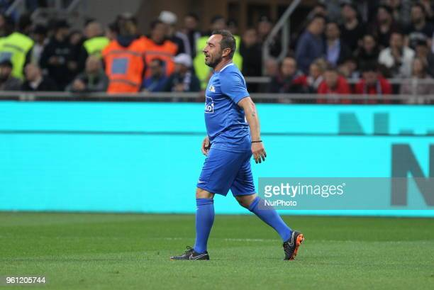 Cristian Brocchi during quotLa partita del Maestroquot the farewell match by Andrea Pirlo at Giuseppe Meazza stadium on May 21 2018 in Milan Italy