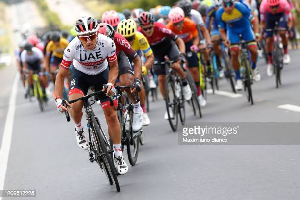 Cristian Camilo Muñoz Lancheros of Colombia and UAE Team Emirates / during the 3rd Tour of Colombia 2020, Stage 5 a 180,5km stage from Paipa to...