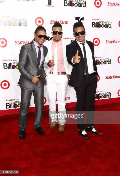 Cristian Castro and Bibiana arrive at the 2011 Billboard Latin Music Awards at Bank United Center on April 28 2011 in Miami Florida