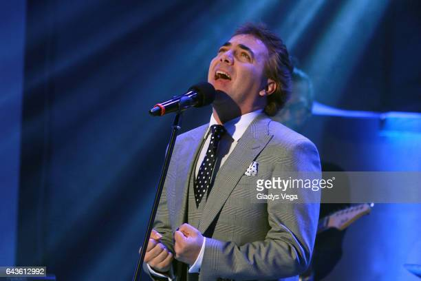 Cristian Castro performs as part of Raymond Y Sus Amigos show on February 21 2017 in San Juan Puerto Rico