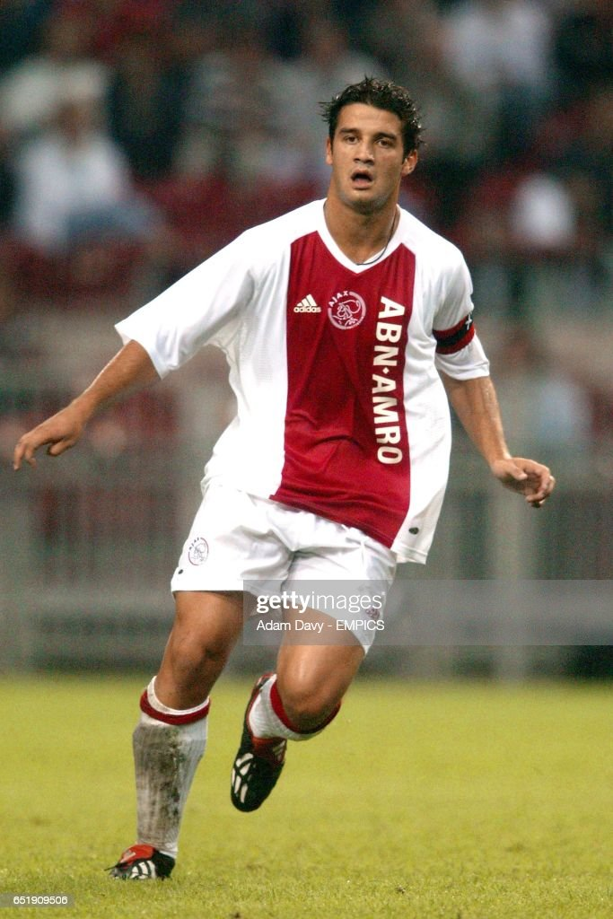 Soccer amsterdam tournament ajax v barcelona pictures getty images cristian chivu ajax thecheapjerseys