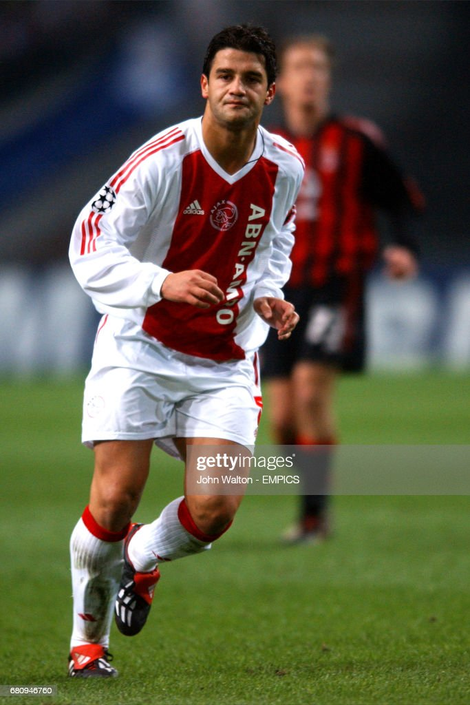 Soccer uefa champions league quarter final first leg ajax v cristian chivu ajax thecheapjerseys Image collections