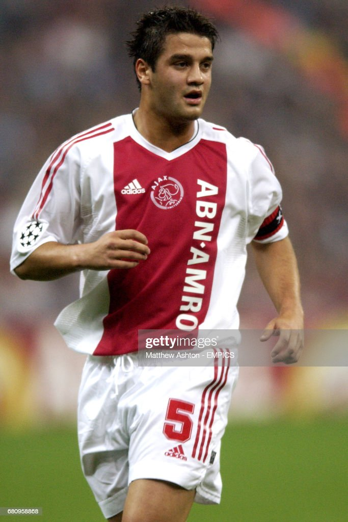 Soccer uefa champions league quarter final second leg ac cristian chivu ajax thecheapjerseys Image collections
