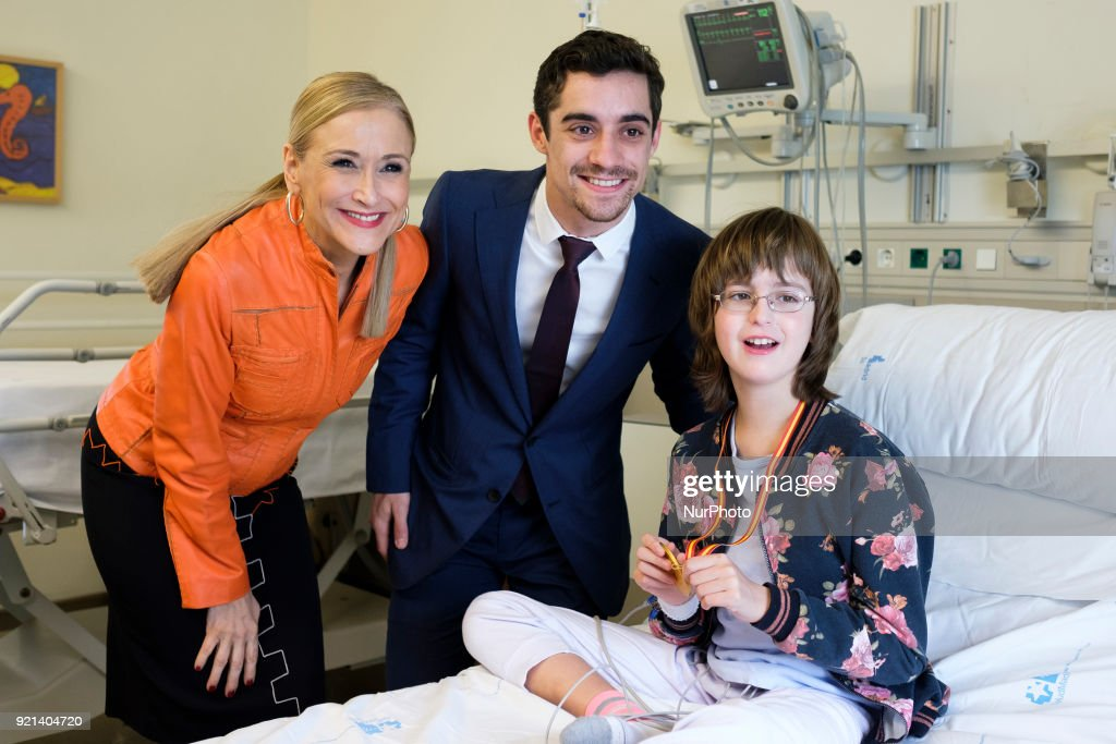 Javier Fernandez Visits Gregorio Maranon Hospital