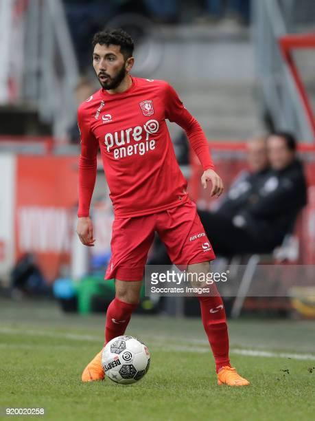 Cristian Cuevas of FC Twente during the Dutch Eredivisie match between Fc Twente v Sparta at the De Grolsch Veste on February 18 2018 in Enschede...