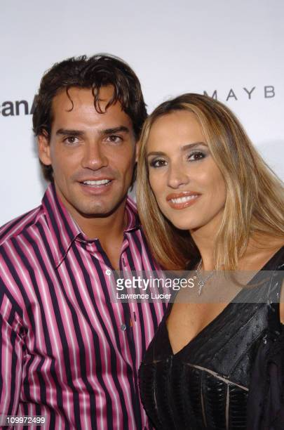 Cristian de la Fuente and guest during People En Espanol's 4th Annual 50 Most Beautiful Gala Arrivals at Capitale in New York City New York United...