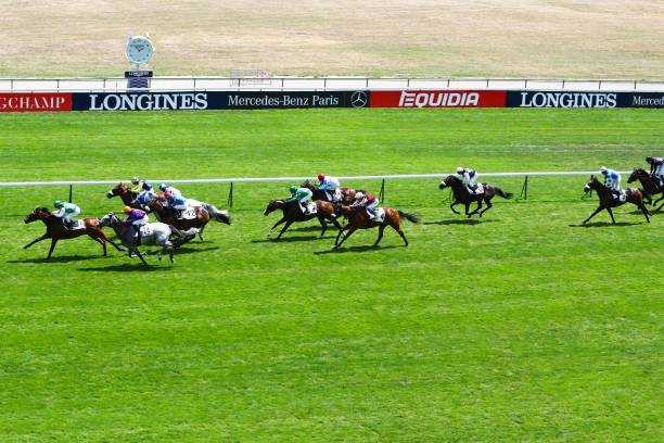 FRA: Horse racing in Paris-Longchamp