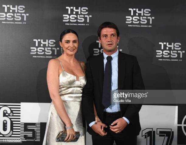 Cristian Eugen Chivu attends The Best FIFA Football Awards 2019 at the Teatro Alla Scala on September 23, 2019 in Milan, Italy.