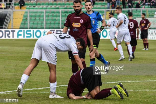 Cristian Langella during the serie D match between SSD Palermo and Acireale at Stadio Renzo Barbera on December 08 2019 in Palermo Italy