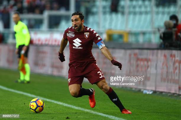 Cristian Molinaro of Torino FC in action during the Serie A football match between Torino Fc and Genoa Cfc