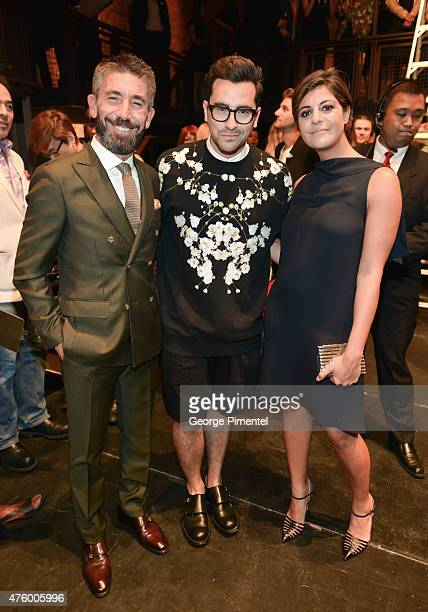 Cristian Notari Dan Levy and Maria Giulia Maramotti attend the Max Mara presents The Power Plant's Power Ball XVII Appetite For Excess at Power Plant...