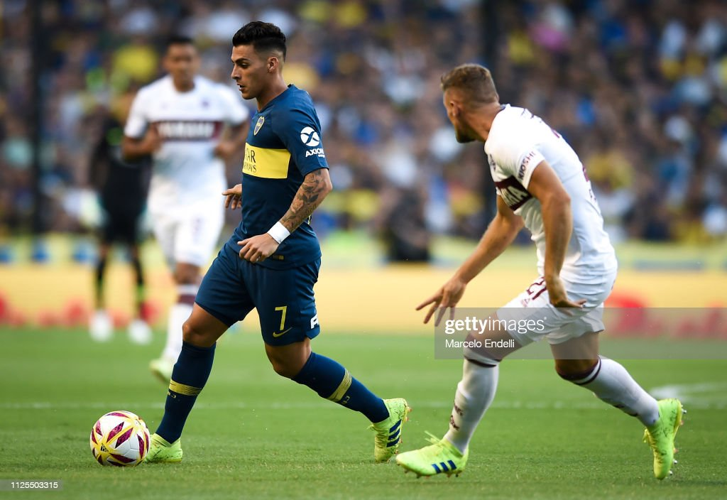ARG: Boca Juniors v Lanús - Superliga 2018/19
