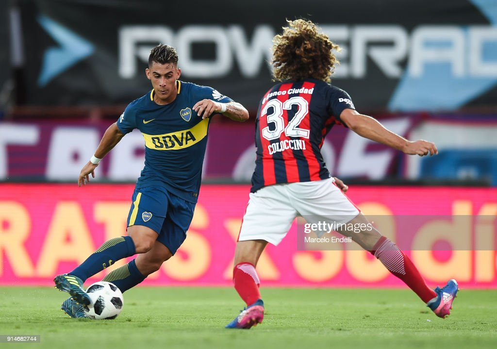 San Lorenzo v Boca Juniors - Superliga 2017/18 : News Photo