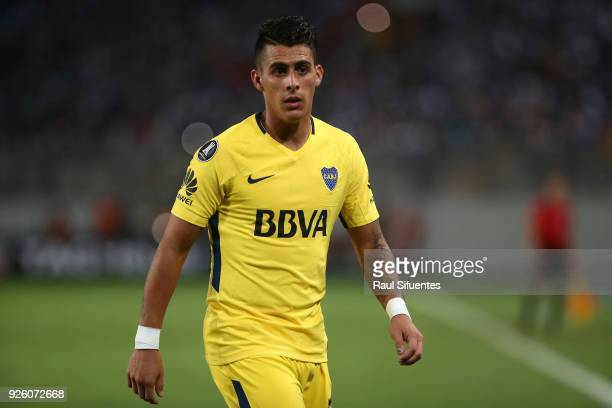 Cristian Pavon of Boca Juniors looks on during a groups stage match between Alianza Lima and Boca Juniors as part of Copa Conmebol Libertadores 2018...
