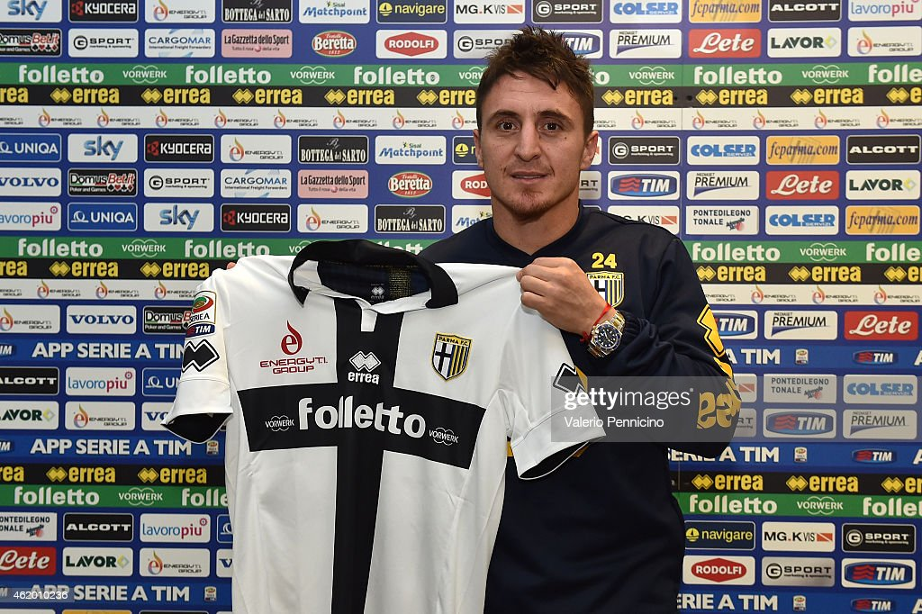 Parma FC Unveils New Signings Cristian Rodriguez and Silvestre Varela