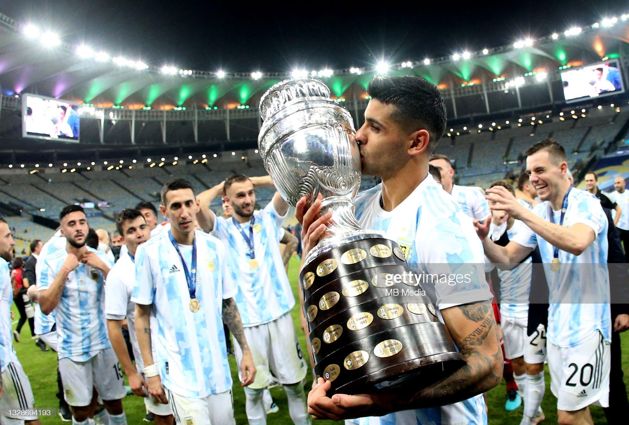 Brazil v Argentina: Final - Copa America Brazil 2021 : ニュース写真