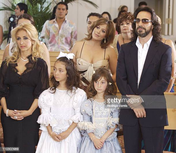 Cristian Solis daughters Alison Janine and Marco Antonio Solis