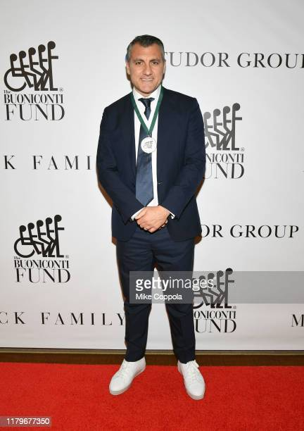 Cristian Vieri attends the 34th Annual Great Sports Legends Dinner To Benefit The Buoniconti Fund To Cure Paralysis at The Hilton Midtown on October...