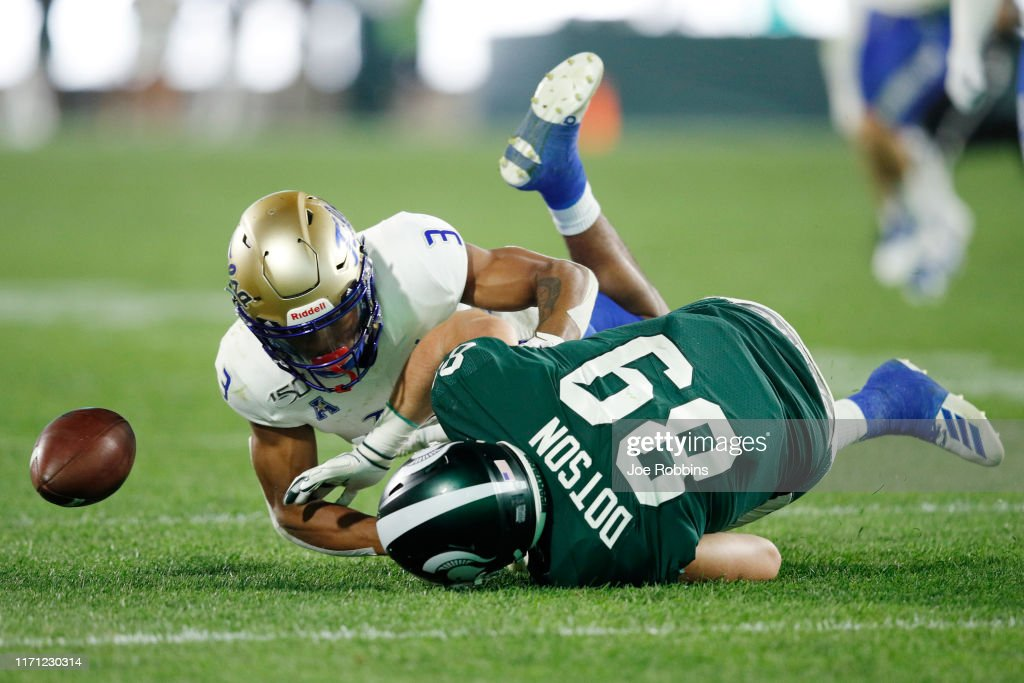 Tulsa v Michigan State : News Photo