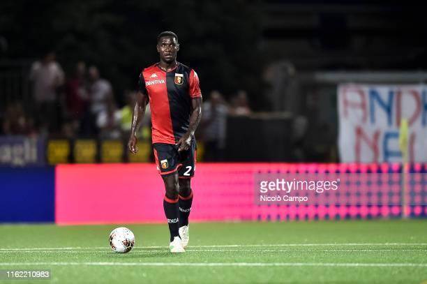Cristian Zapata of Genoa CFC in action during the Coppa Italia football match between Genoa CFC and Imolese Calcio. Genoa CFC won 4-1 over Imolese...