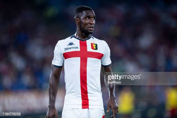 Cristian Zapata of Genoa FC during the Serie A match between AS Roma and Genoa FC at Stadio Olimpico, Roma, Italy on 25 August 2019
