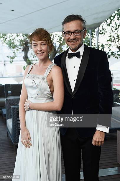 Cristiana Capotondi and JaegerLeCoultre Head of Communication Laurent Vinay attends the JaegerLeCoultre gala event celebrating 10 years of...