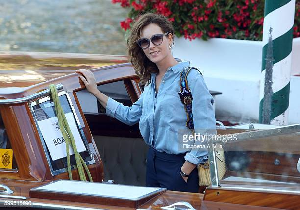 Cristiana Capotondi arrives at Excelsior Darsena on September 5 2016 in Venice Italy