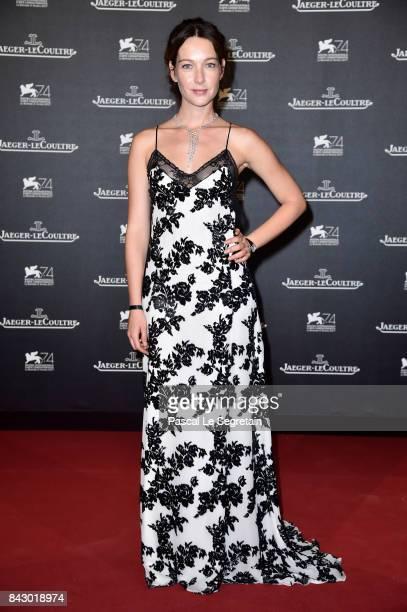 Cristiana Capotondi arrives for the JaegerLeCoultre Gala Dinner during the 74th Venice International Film Festival at Arsenale on September 5 2017 in...
