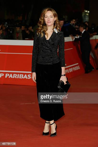 Cristiana Capotondi attends the 'Biagio' Red Carpet during the 9th Rome Film Festival on October 24 2014 in Rome Italy