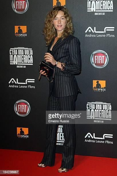 Cristiana Capotondi attends the 'C'era Una Volta In America Director's Cut' premiere at Space Moderno on October 16 2012 in Rome Italy