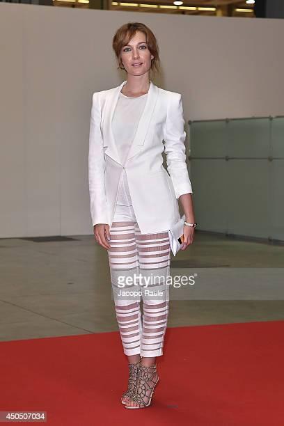 Cristiana Capotondi attends the Convivio 2014 on June 12 2014 in Milan Italy