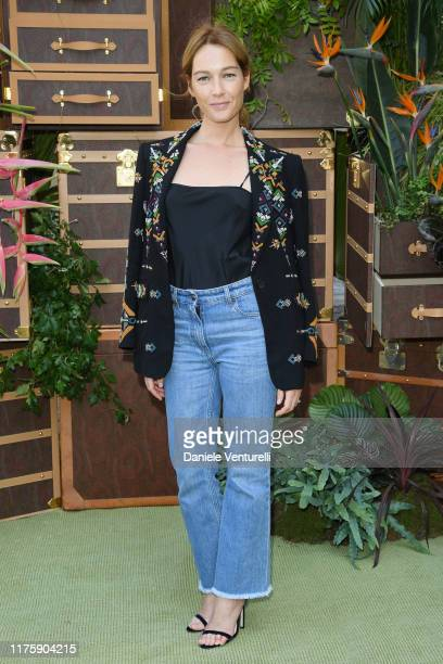 Cristiana Capotondi attends the Etro fashion show during the Milan Fashion Week Spring/Summer 2020 on September 20 2019 in Milan Italy
