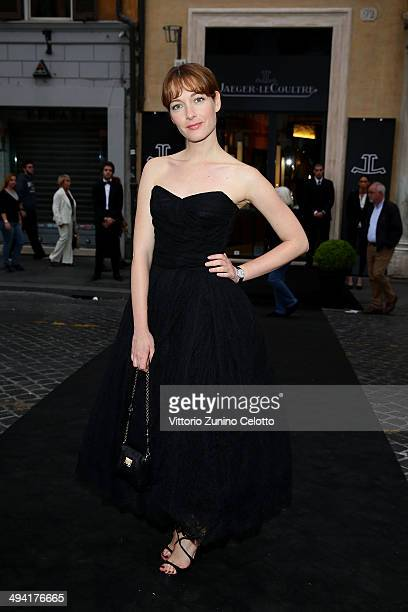 Cristiana Capotondi attends the JaegerLeCoultre Boutique Opening on May 28 2014 in Rome Italy