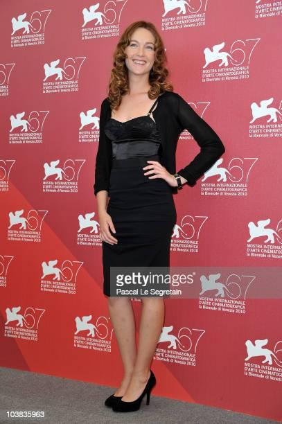 Cristiana Capotondi attends the La Passione photocall during the 67th Venice Film Festival at the Palazzo del Casino on September 4 2010 in Venice...