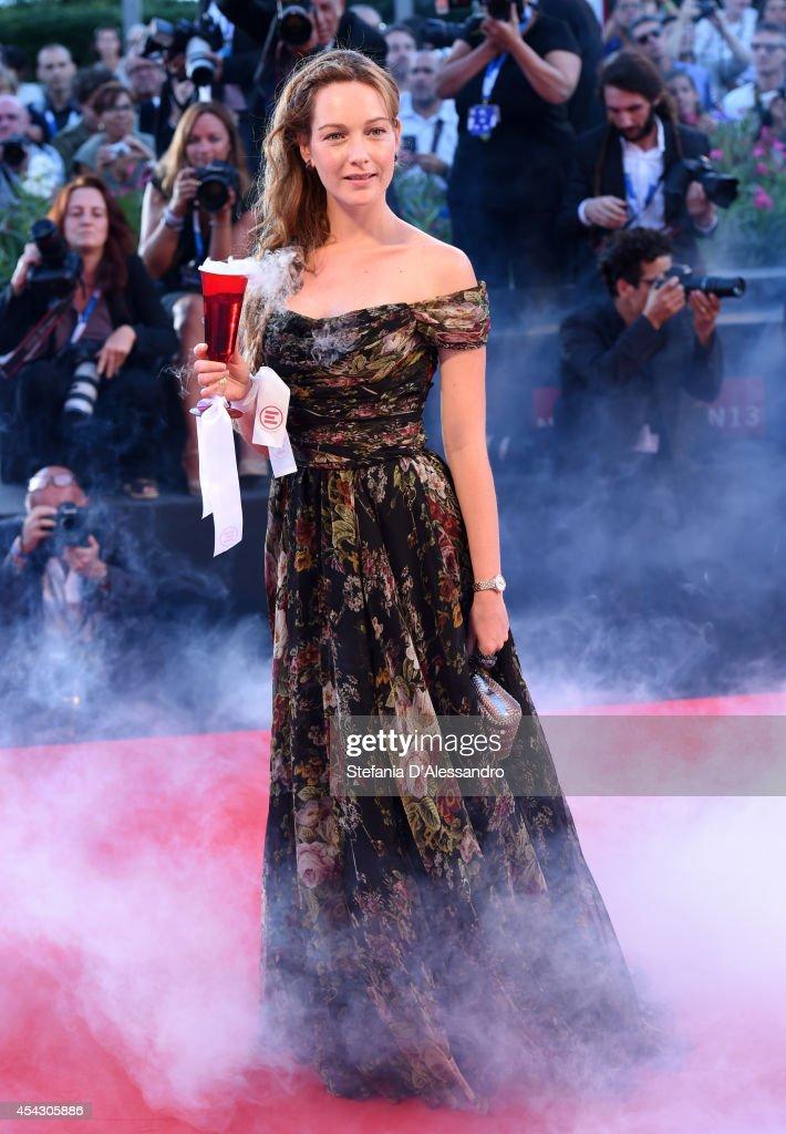 Cristiana Capotondi attends the 'La Rancon De La Gloire' premiere during the 71st Venice Film Festival on August 28, 2014 in Venice, Italy.