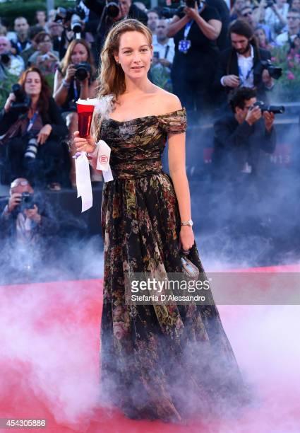 Cristiana Capotondi attends the 'La Rancon De La Gloire' premiere during the 71st Venice Film Festival on August 28 2014 in Venice Italy