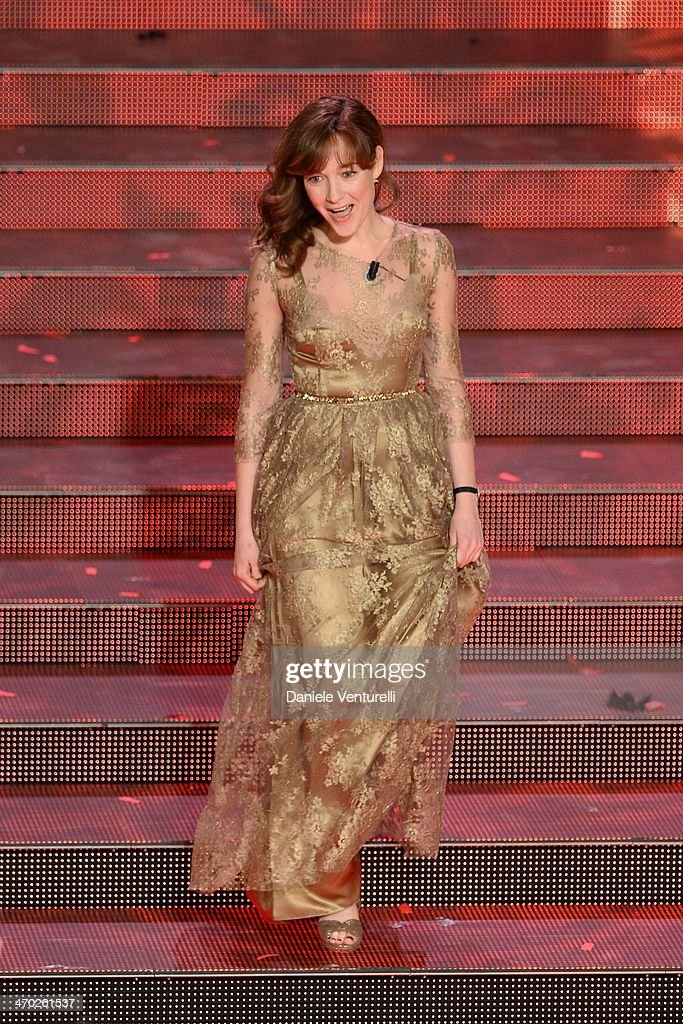Cristiana Capotondi Attends The Opening Night Of The 64th Festival
