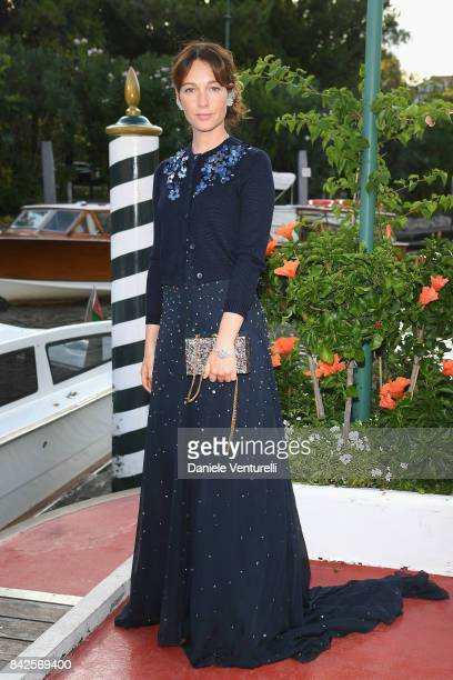 Cristiana Capotondi is seen during the 74th Venice Film Festival on September 4 2017 in Venice Italy