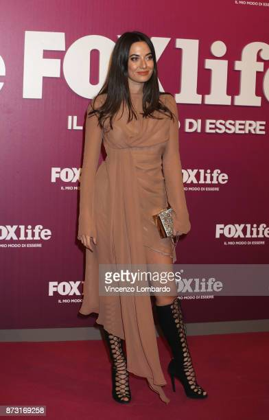 Cristiana Dell'Anna attends Foxlife Official Night Out on November 7 2017 in Milan Italy